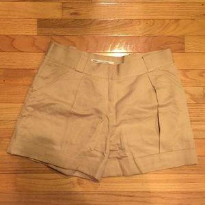DVF Gillian pleated shorts
